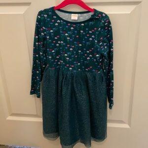 Size 5t green Gymboree dress